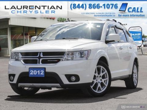 Pre-Owned 2012 Dodge Journey R/T - SELF CERTIFY !!
