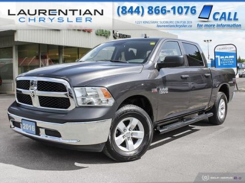 Pre-Owned 2016 Ram 1500 ST - DRIVE RAM CAPABILITY AND HEMI POWER !