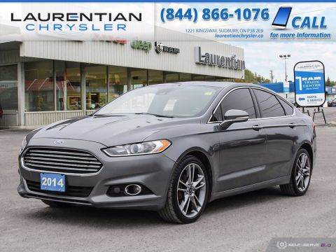 Pre-Owned 2014 Ford Fusion Titanium!! BACKUP CAMERA!! AWD!! FULLY LOADED!!