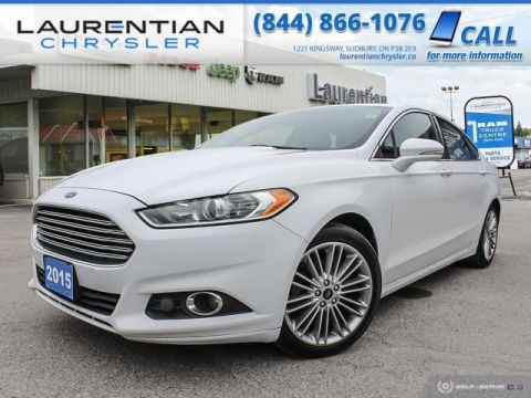 Pre-Owned 2015 Ford Fusion SE - ROOMY YET GREAT ON GAS !!