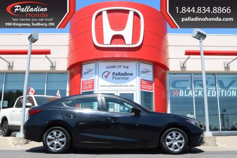 Pre-Owned 2015 Mazda3 GX- 6 SPEED MANUAL, BLUETOOTH