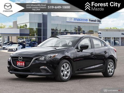 Pre-Owned 2015 Mazda3 GX | MANUAL | POWER OPTIONS,