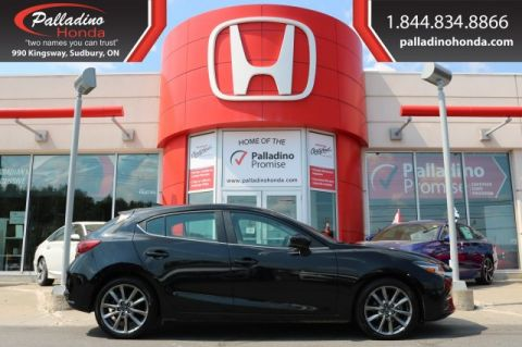 Pre-Owned 2018 Mazda3 Sport GT-NAVIGATION,BACKUP CAMERA,HEATED SEATS/STEERING WHEEL
