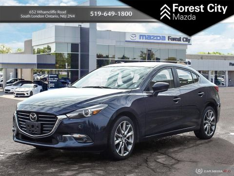 Pre-Owned 2018 Mazda3 GT,PREVIOUS DAILY RENTAL, MOONROOF, NAVIGATION, HEADS UP DISPLAY