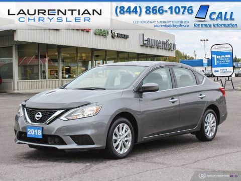Pre-Owned 2018 Nissan Sentra SV!! BACKUP CAM!! LOW KILOMETRES!! FWD 4dr Car