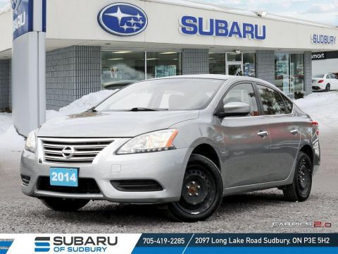 Pre-Owned 2014 Nissan Sentra 1.8 SV - SUPER LOW KMS - MANUAL TRANSMITION - FINANCING AVAILABLE