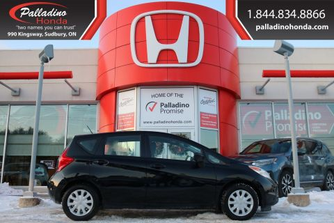 Pre-Owned 2015 Nissan Versa Note SV- LOW MILES, BACKUP CAMERA, BLUETOOTH FWD Hatchback