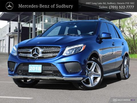 Certified Pre-Owned 2018 Mercedes-Benz GLE 400 4MATIC