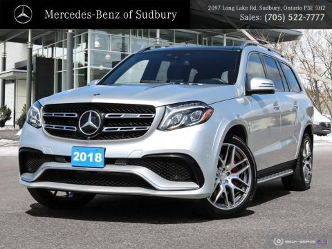 Pre-Owned 2018 Mercedes-Benz GLS AMG GLS 63