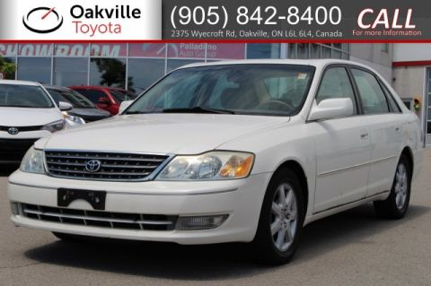 Pre-Owned 2003 Toyota Avalon XLS | SELF CERTIFY