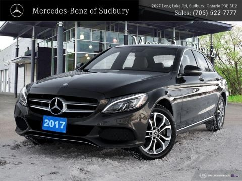 Certified Pre-Owned 2017 Mercedes-Benz C-Class C300 4MATIC Sedan