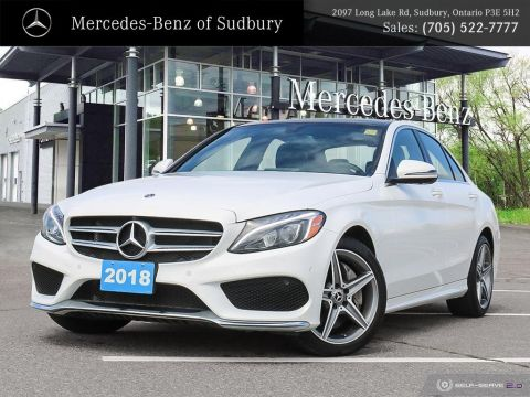 Certified Pre-Owned 2018 Mercedes-Benz C300 4MATIC Sedan - STAR CERTIFIED!