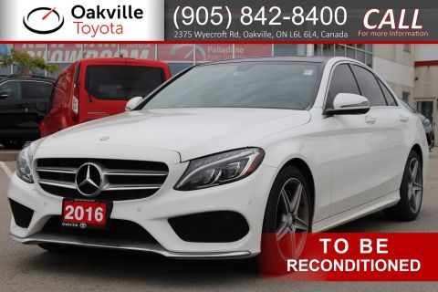 Pre-Owned 2016 Mercedes-Benz C-Class C 300 with Clean Carfax