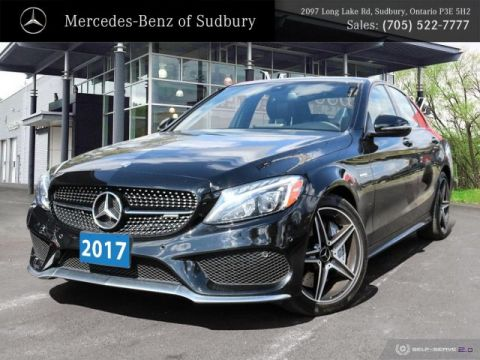Certified Pre-Owned 2017 Mercedes-Benz C-Class C43 AMG 4MATIC Sedan