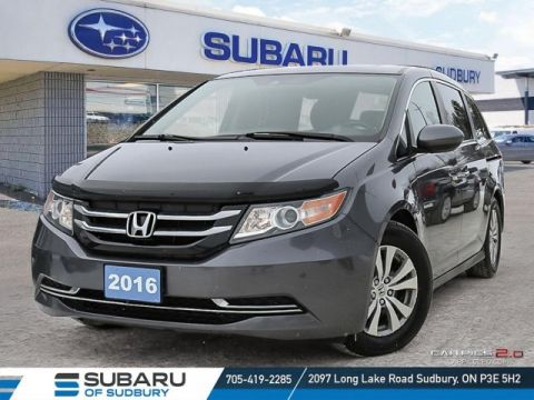 Pre-Owned 2016 Honda Odyssey EX-L - LOADED VAN - NAV - LEATHER - UNDER $27,000