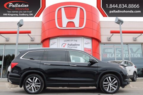 Pre-Owned 2016 Honda Pilot Touring- THIRD ROW SEATS, REAR ENTERTAINMENT SYSTEM, LEATHER SEATS