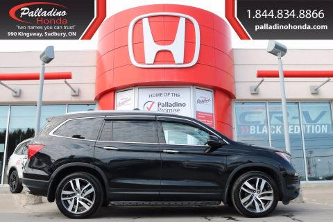 Pre-Owned 2016 Honda Pilot Touring- THIRD ROW SEATS, REAR ENTERTAINMENT SYSTEM, ALL WHEEL DRIVE
