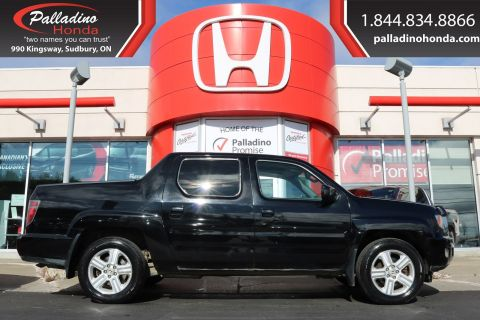 Pre-Owned 2013 Honda Ridgeline Touring-HEATED SEATS, BACKUP CAMERA, NAVIGATION With Navigation & 4WD