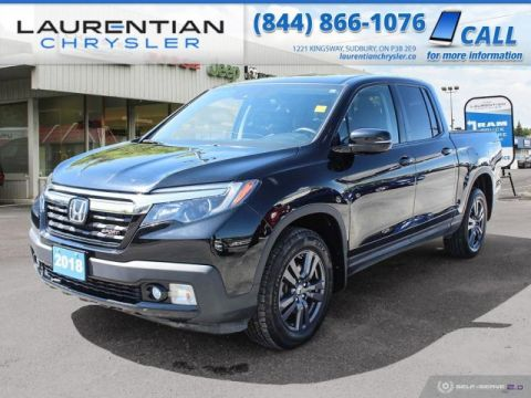 Pre-Owned 2018 Honda Ridgeline Sport - STAND OUT FROM THE CROWD!!