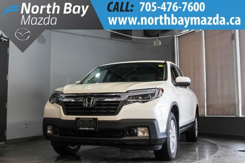 Pre-Owned 2017 Honda Ridgeline LX AWD Crew Cab with Heated Seats