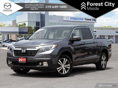 Pre-Owned 2017 Honda Ridgeline EX-L, BLUETOOTH, SUNROOF, LEATHER
