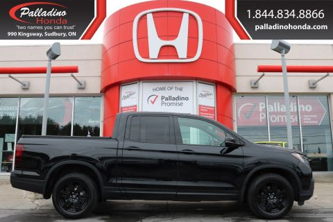 Pre-Owned 2018 Honda Ridgeline Black Edition-NAVIGATION,SMART DEVICE INTEGRATION,HEATED/VENTED SEATS