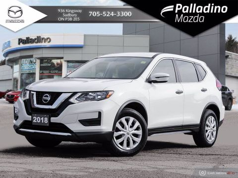 Pre-Owned 2018 Nissan Rogue S - NEW BRAKES ALL AROUND - WINTER RUBBER - 4 NEW ALL SEASONS
