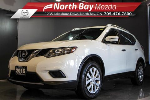 Pre-Owned 2016 Nissan Rogue S AWD with Bluetooth, Cruise Control, Eco Mode