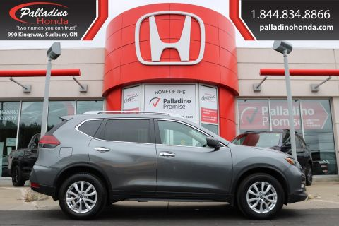 Pre-Owned 2018 Nissan Rogue SV- ALL WHEEL DRIVE,SMARTPHONE INTEGRATION, HEATED SEATS