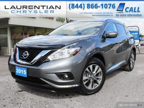 Pre-Owned 2015 Nissan Murano SV - CRUISE IN COMFORT AND AWD CAPABILITY IN THIS STYLISH SUV