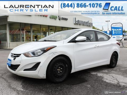 Pre-Owned 2015 Hyundai Elantra GL - RELIABLE COMPACT FUN !!