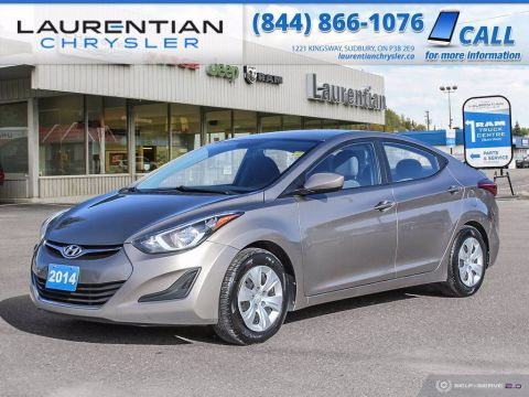Pre-Owned 2014 Hyundai Elantra L!! MANUAL TRANSMISSION!!