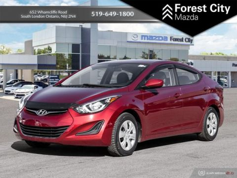 Pre-Owned 2016 Hyundai Elantra L | Manual | Cloth Seats | AUX