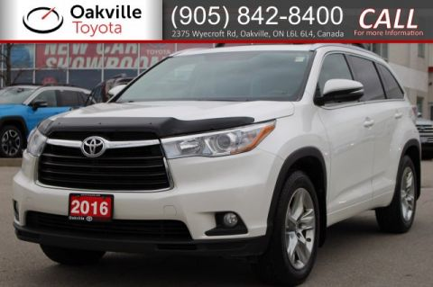 Pre-Owned 2016 Toyota Highlander Limited AWD with Hood Deflector, Clean Carfax, and One Owner