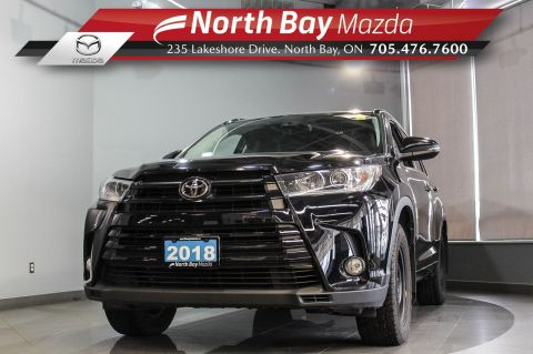 Pre-Owned 2018 Toyota Highlander Limited AWD with Leather, Heated Seats, Sunroof, 7 Passenger!