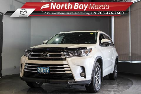 Pre-Owned 2017 Toyota Highlander XLE AWD with Leather, Sunroof, Power Liftgate