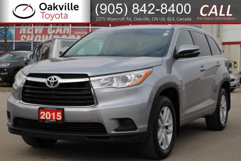 Certified Pre-Owned 2015 Toyota Highlander LE with Clean Carfax
