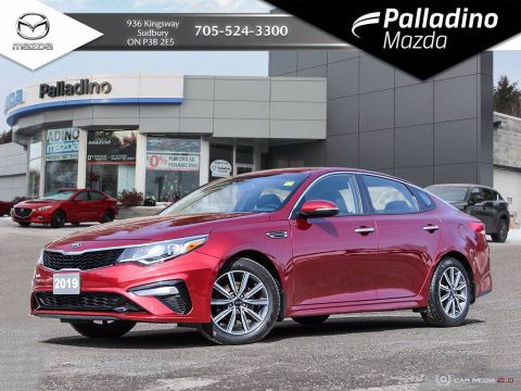 Pre-Owned 2019 Kia Optima LX+ - SPORTY SEDAN - $73 WEEKLY OAC. FWD 4dr Car