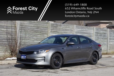 Pre-Owned 2017 Kia Optima LX, AUTOMATIC,HEATED SEATS,HEATED STEERING WHEEL