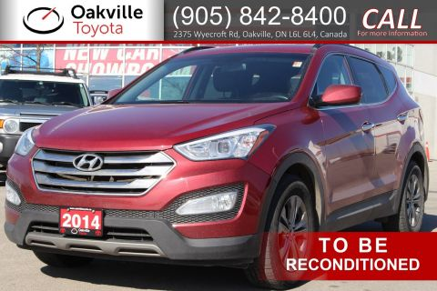 Pre-Owned 2014 Hyundai Santa Fe Sport with Single Owner