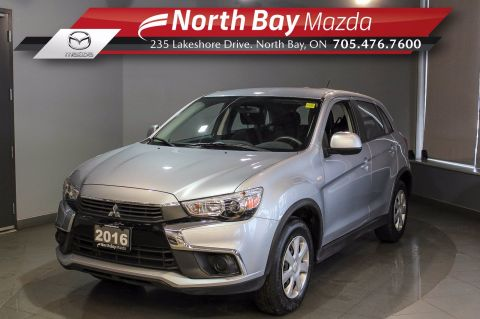 Pre-Owned 2016 Mitsubishi RVR SE with Heated Seats, Cruise, Cloth Interior