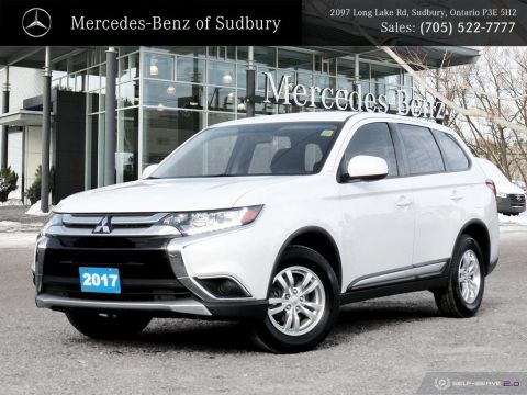 Pre-Owned 2017 Mitsubishi Outlander ES - AWD - WARRANTY AND FINANCING AVAILABLE