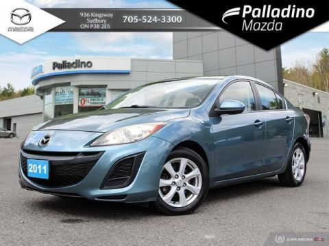 Pre-Owned 2011 Mazda3 GS - UNDER 45 000KM!!! - FULL LEATHER
