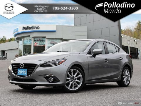 Pre-Owned 2015 Mazda3 GT - BOSE SOUND - SPORTY MANUAL - CERTIFIED
