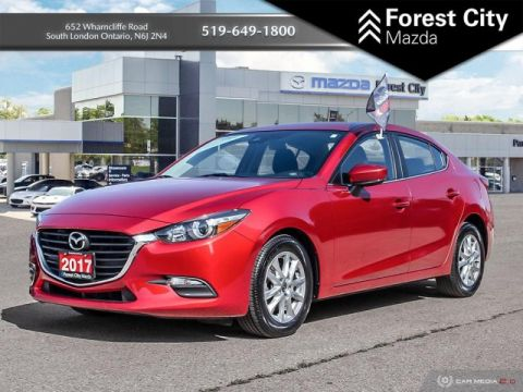 Pre-Owned 2017 Mazda3 GS PACKAGE, FWD, BLUETOOTH