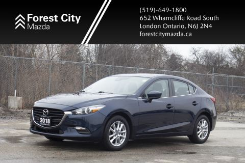 Pre-Owned 2018 Mazda3 GS,ALLOYS
