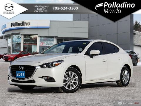Pre-Owned 2017 Mazda3 GS - HEATED SEATS AND STEERING WHEEL - LOW KM'S FWD 4dr Car
