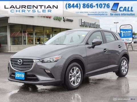 Pre-Owned 2019 Mazda CX-3 GS!! HEATED WHEEL!! AWD!! COMPACT!! AWD