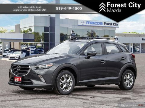 Pre-Owned 2017 Mazda CX-3 GS, ALL WHEEL DRIVE, AUTOMATIC, ALLOYS AWD