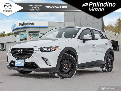 Pre-Owned 2017 Mazda CX-3 GS - IIHS TOP SAFETY PICK + - LOW MILEAGE